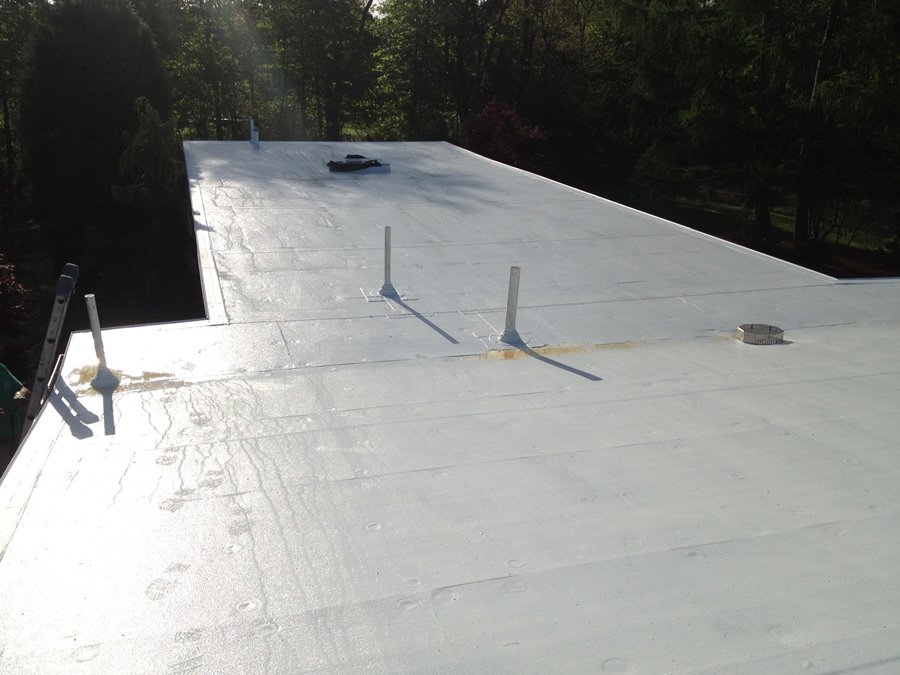 EPDM Roofing Install In Billerica, MA