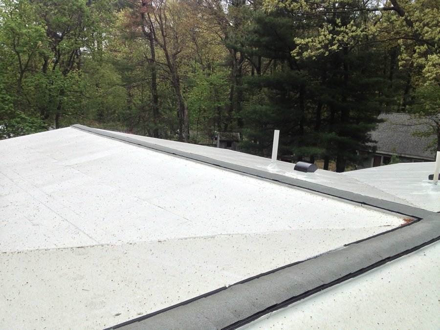 Epdm Roofing Replacement Burlington Ma Quinns Construction