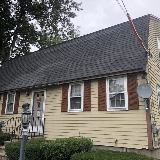 Vinyl Siding job at Lowell MA