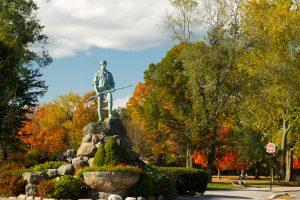 Concord, MA statue