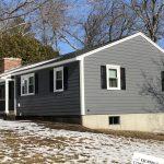 James Hardie Siding, Window, and Deck job