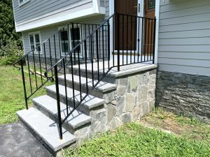 Side View New Front Steps
