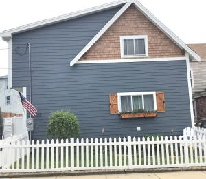 After New Siding Side View