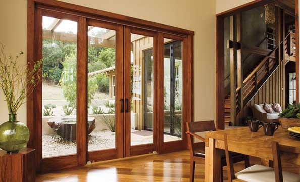 pella wood patio door